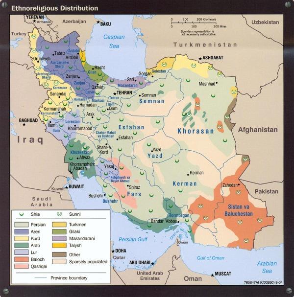 Ethnoreligious Distribution