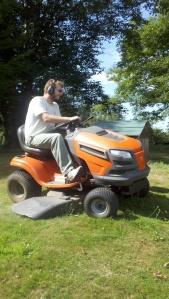 happy mowing
